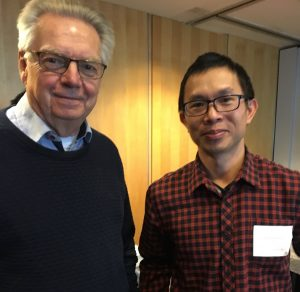 Alun Luo and Lars Bolund. Epigenome Editing gurus.