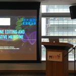 Alun Luo presenting at KI HK