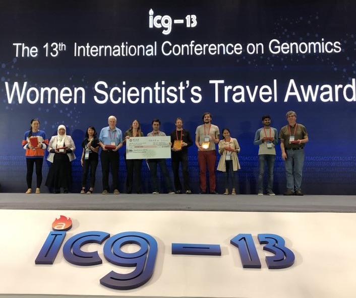 ICG13 prize winners