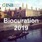 Biocuration 2019